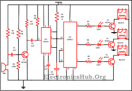 clap switch circuit for devices circuit working and applications clap switch circuit diagram