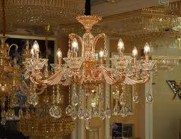 white drip candles continental rose gold color crystal candle chandelier dripping