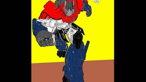 Small Picture Speed Coloring How to color Optimus Prime coloring pages