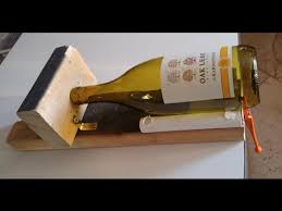 how to cut a glass bottle with a homemade bottle cutter