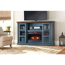 tv stand infrared electric fireplace in antique blue finish infrared fireplace tv stand innovative tv stand