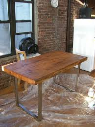diy reclaimed wood dining table. step 5: apply finish to the table diy reclaimed wood dining