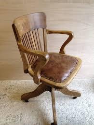 antique oak swivel desk chair antique furniture