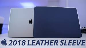 apple s new macbook pro leather sleeve review don t it