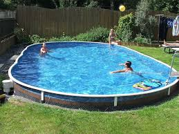 in ground swimming pool. Above Ground / In-Ground Pool Kit In Swimming C