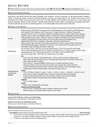Science And Research Resume Examples