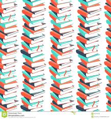 Pattern Book Fascinating Seamless Book Pattern Illustration 48 Megapixl