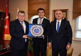 Osmangazi Belediyesi - Başkan Dündar, Yargıtay Başkanı Cirit ve Yargıtay  Üyelerini Ağırladı