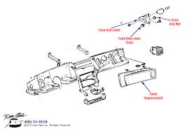 1990 corvette instrument panel parts parts accessories for instrument panel diagram for a 1990 corvette