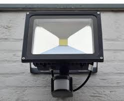 30w 2400 Lumen Led Floodlight With Pir Sensor Waterproof