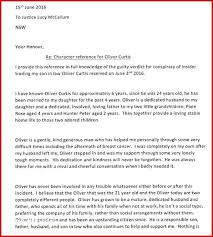 Example Of Reference Character Letter Templates Free Sample Example Witness Reference