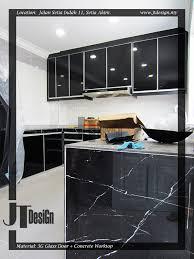 3g glass door kitchen cabinet 15b