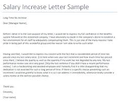 pay raise letter samples application for the salary 4 request increment helpful snapshot so