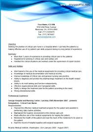 Skills For Nursing Resume Enchanting Icu Nurse Resume Sample Critical Care Skills R Cherrytextads