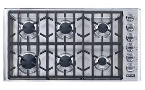 gas cooktop viking. Viking 6 Burner Stove In Stainless Gas Vgc56bss Top Cooktop .