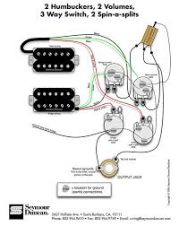 gibson wiring diagrams wiring diagram schematics baudetails info seymour duncan wiring diagram 2 humbuckers 2 vol 3 way 2 spin