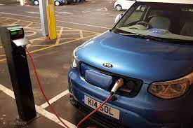 electric car charging points on google maps