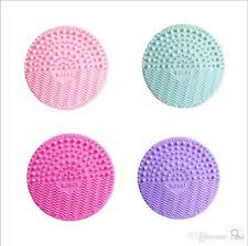 silicone makeup brush cleaner. bossy makeup brush cleaning pad silicone cosmetic brushes round cleaner multi-colors dhl free