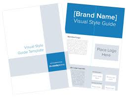Style Template How To Create A Brands Visual Style Guide Template Included