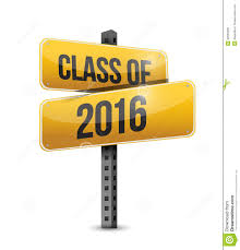 Class Of 2016 Design Class Of 2016 Road Sign Illustration Design Stock