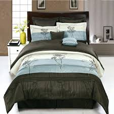 blue comforters queen blue brown bedding sets king designs the most and comforter queen inside set
