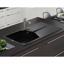 Granite Kitchen Sinks Uk Astracast Razor 10 Bowl Rok Metallic Granite Volcano Black