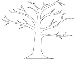 Family Tree Diagram Template Pdf Children Coloring Tree Outline ...