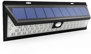 super bright 66 led wall lights outdoor motion sensor solar lights