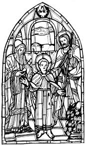 Color The Bible Saint Joseph And
