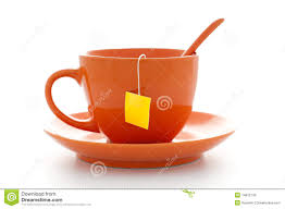 tea bag in cup. Beautiful Bag Download Orange Cup With Tea Bag Stock Image Image Of Empty Shiny   14822743 On Tea Bag In Cup E
