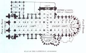 Chartres France  Chartres Cathedral The Cathedral Of NotreDame Cathedral Floor Plans