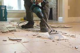 how to remove tile from concrete floor remove tile the easy way removing carpet tile adhesive