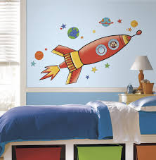 rmk2619gm rocket giant wall decals roomset