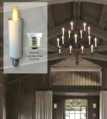 stunning led flameless candle chandelier picture concept wonderful led flameless candle chandelier photo inspirations