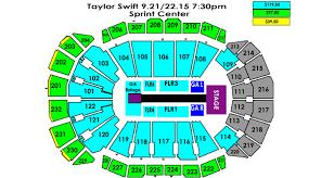 Taylor Swift Sprint Center