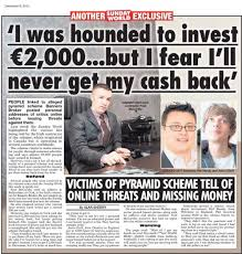 banners broker in the sunday world