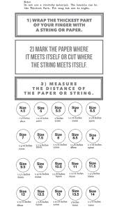 Rigorous How To Measure Mens Ring Size Mens Ring Size Chart