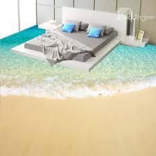 Image Depot 51 Thriftyfuncom Beach Scenery 3d Fabric Waterproof Floor Murals Beddinginncom