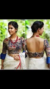 Latest Frill Blouse Design Pin By Shalini On Designer Blouses Sari Blouse Designs