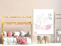 baby nursery baby pink nursery and gold swan girl wall art print ethereal crown whimsical