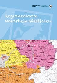 Es liegt in westen der republik und grenzt an die bundesländer. Regionenkarte Nordrhein Westfalen Publikationen Der Landeszentrale Fur Politische Bildung Nordrhein Westfalen