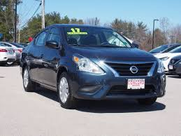 nissan versa tank size used 2017 nissan versa for sale in nh p4095 concord nissan