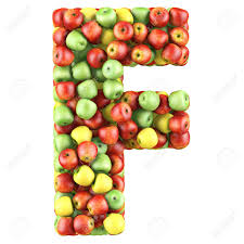 letter f clipart mobile clipartfox food letters letter f made