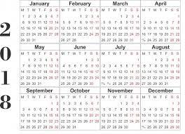 free 2018 calendar printable health symptoms and cure com