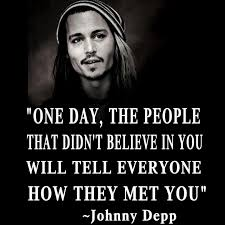 Johnny Depp Love Quotes Simple Best Inspirational Attitude Quote By Johnny Depp Golfian