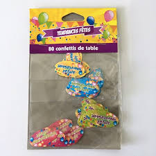 80 confettis de table