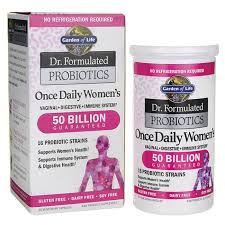 garden of lifedr formulated probiotics once daily women s