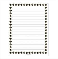 Lined Paper In Word 14 Word Lined Paper Templates Free Premium Templates