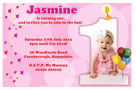 first birthday invitation card template 1st birthday invitations free template baby s