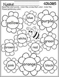 c0c8dfcd3ab7fc9f76284578440e53ab teaching colors preschool colors this simple worksheet was made for my students to continue to on writing checks worksheet